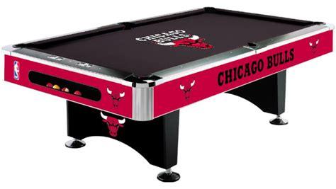 nba chicago bulls pool table