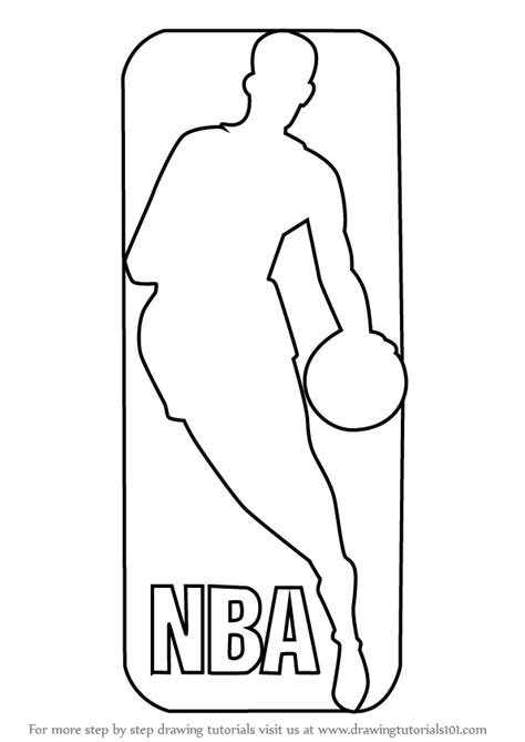 Nba Coloring Page nba logo coloring pages coloring home