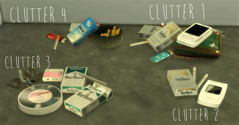 a3ru various drug clutter sims 4 downloads my sims 4 blog soda smoking clutter and more by