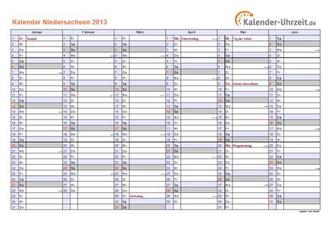 feiertage  niedersachsen kalender