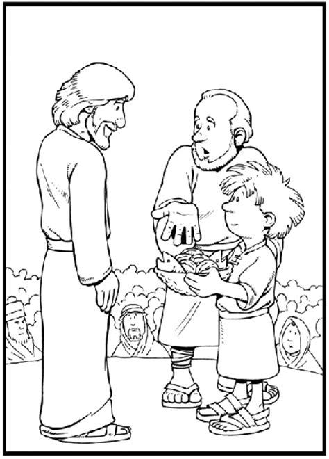 coloring pages jesus feeds the five thousand buenas noticias para los ni 209 os la multiplicaci 211 n de los