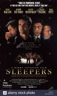Sleepers Free Sleepers 1996 Poster Stock Photo Royalty Free Image