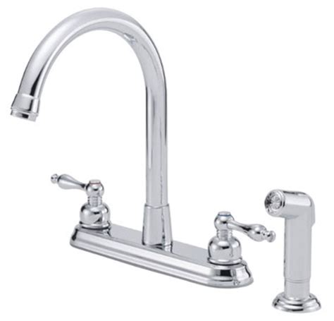 High Rise Kitchen Faucet giant selection of two handle kitchen faucets