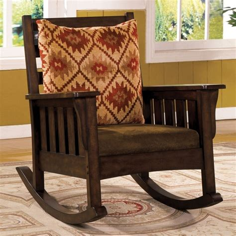 Style Rocking Chair - morrisville mission rocker rocking chair removable fabric