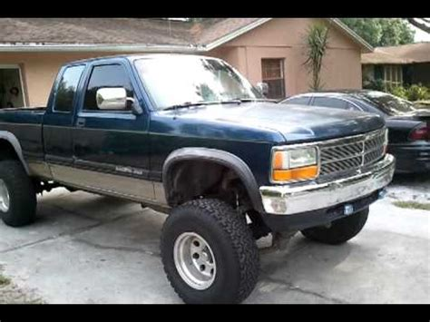 1993 dodge dakota   YouTube