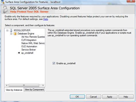 configure xp sql server hacking microsoft windows 2003 server with microsoft sql