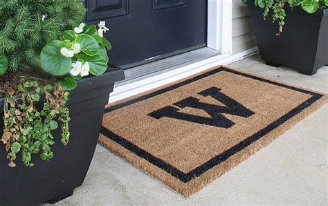 diy mat creative door mats you can make yourself decorating your small space