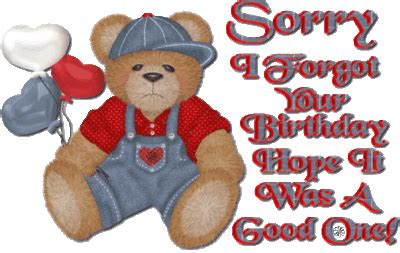 forgot  birthday hope    good   myniceprofilecom