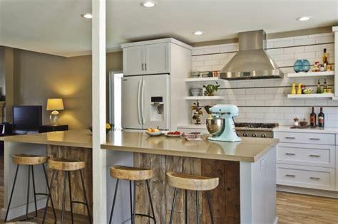 Modern Kitchen Island Stools by Barras De Cocina De Dise 237 177 O Moderno 50 Ideas Diseno Casa