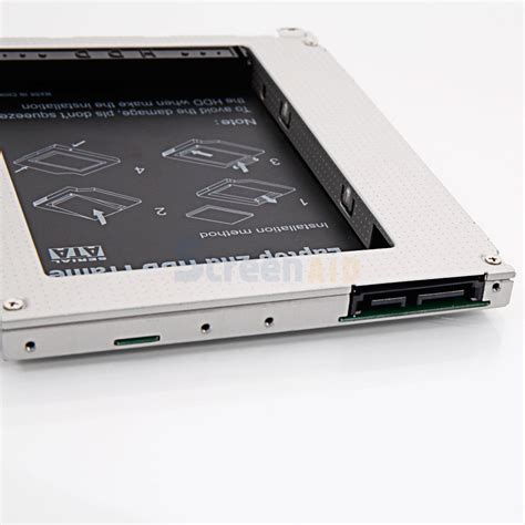 Hardisk Macbook sata hdd disk drive adapter caddy cd rom bay for