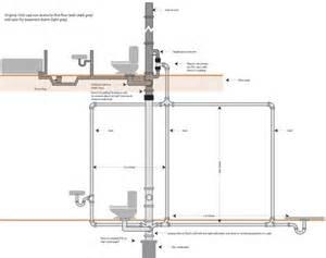 bathroom tub plumbing diagram bathroom plumbing diagram