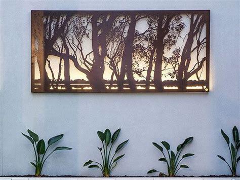 garden wall sculptures metal garden sculptures outdoor metal wall