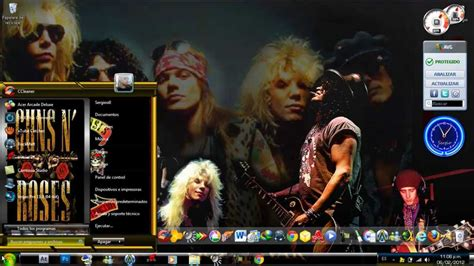 guns themes for windows 10 como descargar e instalar temas guns n roses full glass
