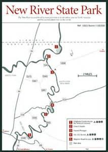 new river carolina map sherpa guides carolina mountains new river