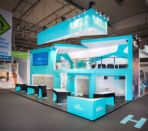 booth design job booth design wikomobile mobile world congress 2014 on
