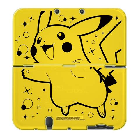 New 3ds Xl Hori Pikachu Pouch more images and new release date revealed for the hori pikachu pack new nintendo 3ds xl starter