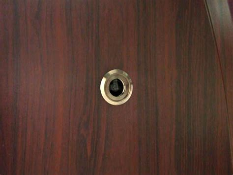 Door Peephole Spy Camera With Wide Angle Lens Front Door With Peephole