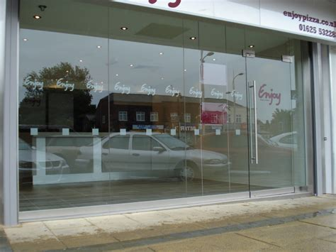 Glass Door For Shop Frameless Glass Shop Fronts Doors Toughened Glass Shop Fronts
