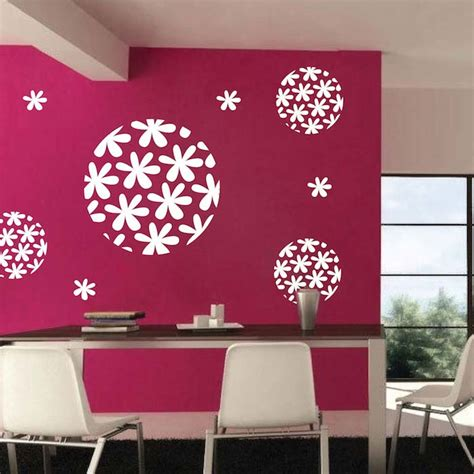 trendy wall designs flora sphere wall decal trendy wall designs