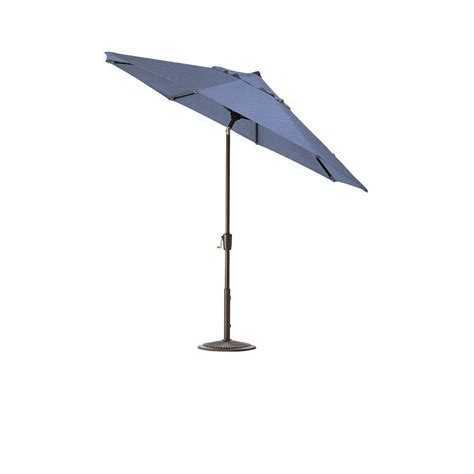 6 Foot Patio Umbrellas Destinationgear Palapa 6 Ft Aluminum Tilt Patio Umbrella In Brown 1266 The Home Depot