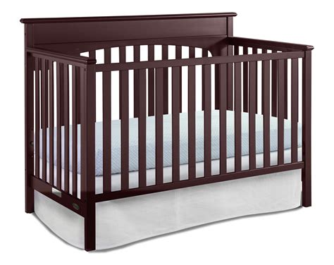 Graco Lauren Convertible Crib Cherry Graco Convertible Crib Toddler Rail
