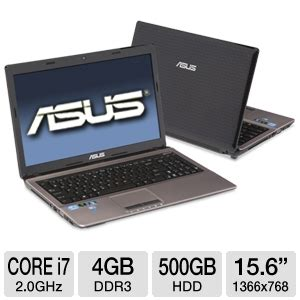 Laptop Asus Terbaru I7 Windows 7 asus a53sv xt1 laptop computer intel i7 2630qm 2 0ghz 4gb ddr3 500gb hdd dvdrw nvidia