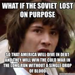 War Meme - did america really win the cold war