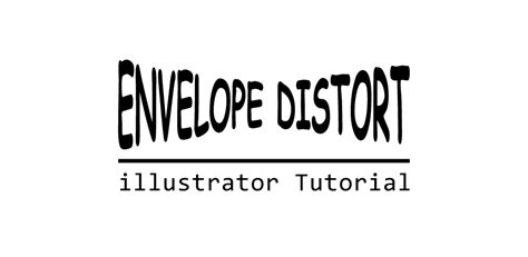 illustrator tutorial envelope distort logo design in photoshop