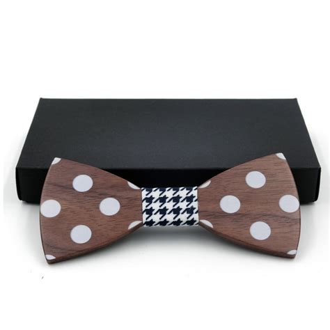 Handmade Wood Gifts - wooden handmade bow tie s gifts fashion handmade