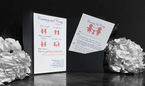 wedding invitation design rules the 2 rules of wedding invitation design