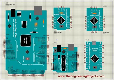 arduino librerie arduino library for proteus the engineering projects