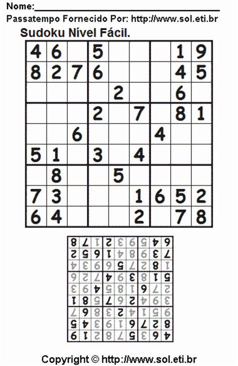 imagenes sudoku para imprimir sudoku com respostas gr 225 tis para imprimir