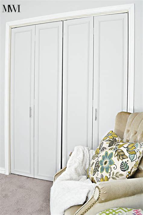 bifold doors closet how to update 1970 s bi fold closet doors wants it