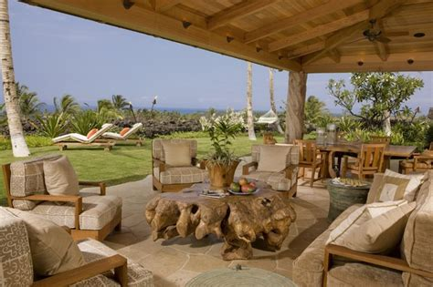 outdoor lanai lanai tropical patio hawaii by saint dizier design