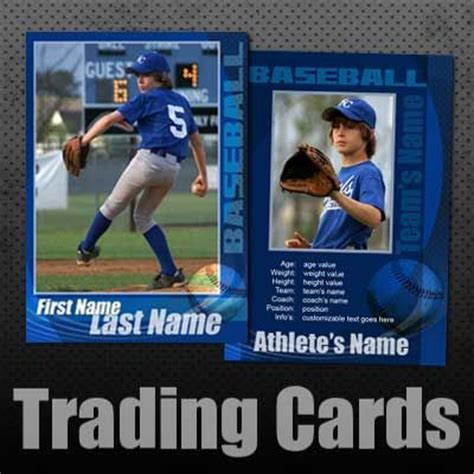 personalized baseball cards template baseball trading cards custom editable templates for