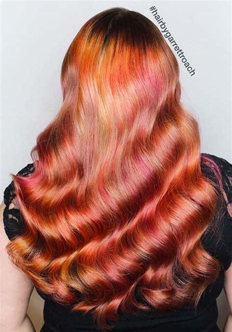 auburn hair color on american 100 badass hair colors auburn cherry copper