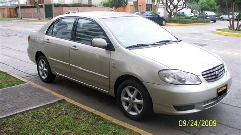 2004 corolla toyota toyota corolla 2004 1 8 xei nacional mecanico sedan