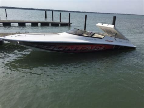 fountain boats for sale in ontario canada fountain powerboats cs24 for sale canada