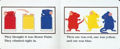 mouse colors mouse paint by stoll walsh a playful lesson in