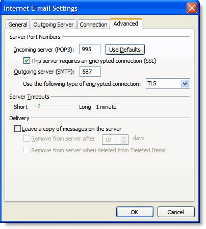 porta pop gmail how to setup gmail with outlook 2007 gmail configuration