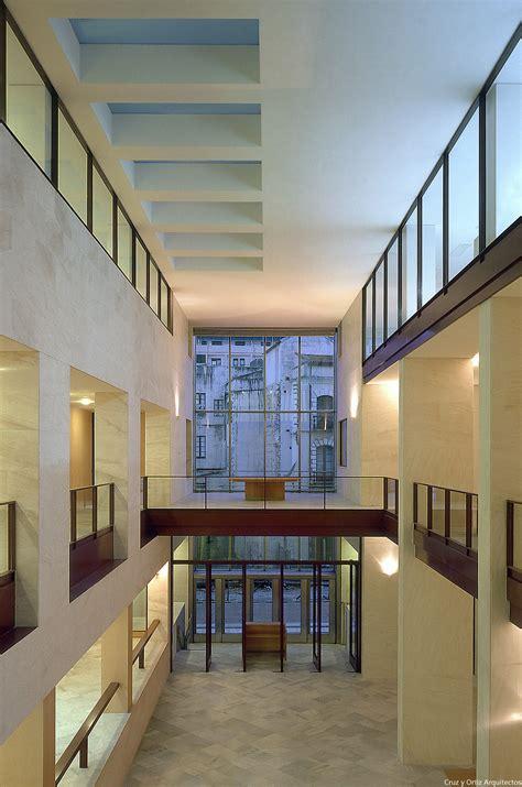 vestibulo hall cruz y ortiz arquitectos ayuntamiento de ceuta design