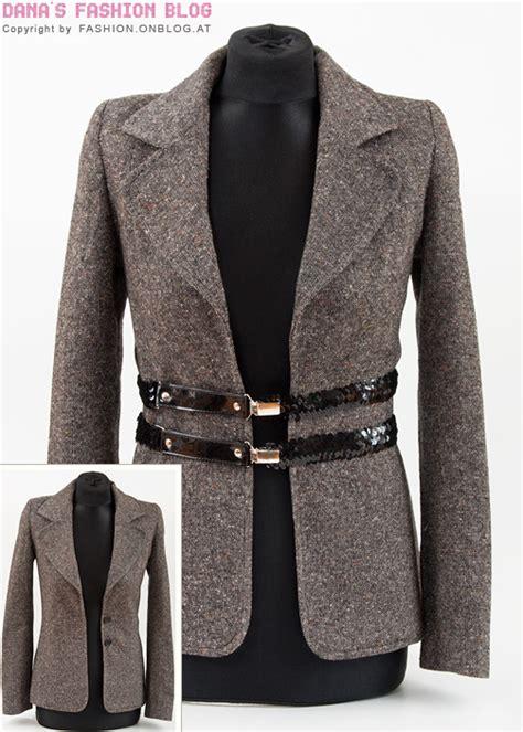 Jaket Mach Original 2 diy tutorial zu enge blazer mit dekorativen g 252 rteln oder
