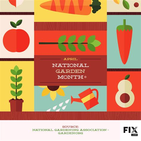 national month april is national garden month fix
