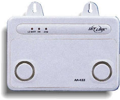 skylink aa 433 audio alarm wireless home security alarm system
