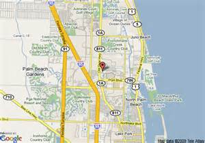 map of oakwood at mira flores west palm