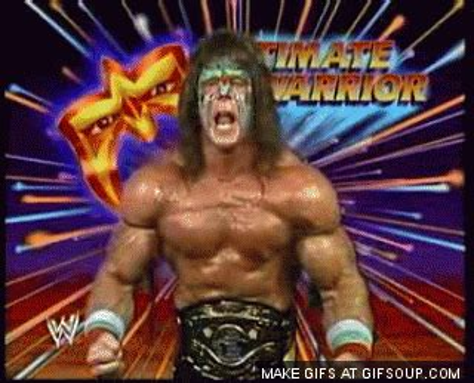 Ultimate Warrior Meme - ultimate warrior gif find share on giphy