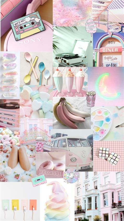 pastel aesthetic background warna koral kertas dinding