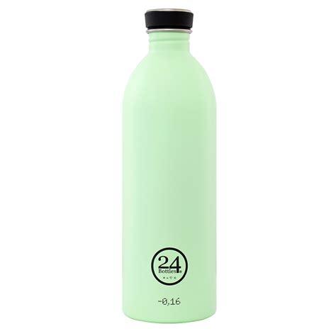 Bottle L by Bottle Pistachio Green 1l 24bottles 174 Stainless Steel Bottle