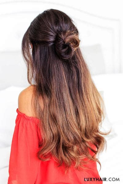 easy hairstyles for school luxy hair 3 lazy hairstyles for lazy days luxy hair