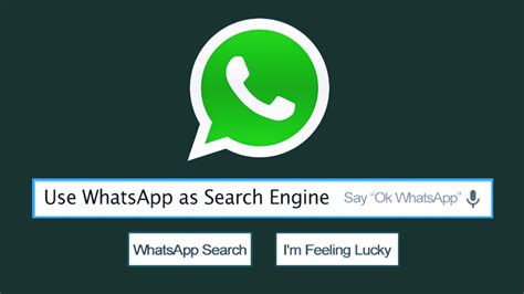 Whatsapp Search Here S How You Can Use Whatsapp As A Search Engine
